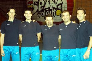 Staff Técnico ESP Voleibol 2004