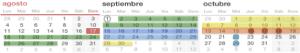 Programación mensual