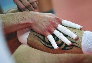 Lesiones voleibol